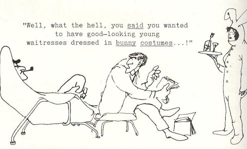 Shel Silverstein Cartoons: The First Rule Of Book Club Is